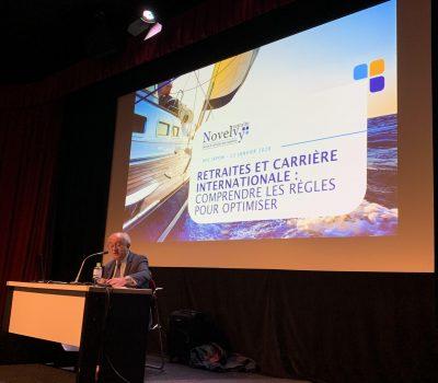 Michel Lachaussée Institut Français 22-01-2020